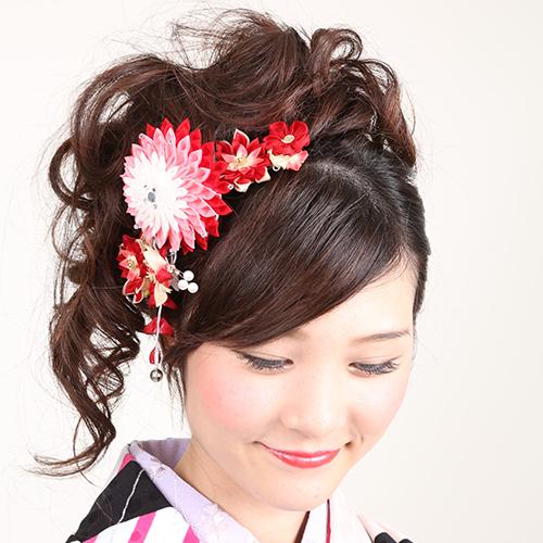 【女子】卒業袴の写真の「前髪」はどうする?アレンジ方法と前髪の疑問を解消3