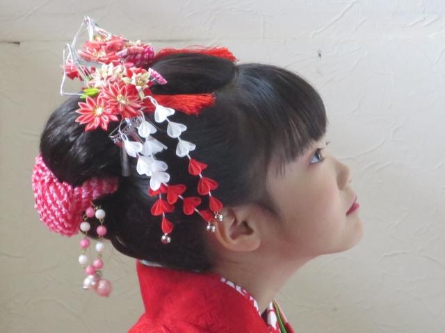 七五三写真の日本髪はお家でも結える!セット方法を詳しく解説2