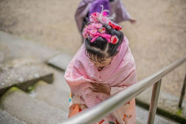 七五三写真の日本髪はお家でも結える!セット方法を詳しく解説1