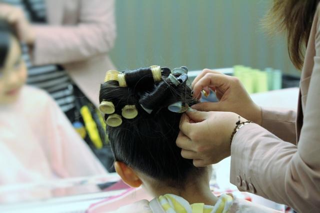 7歳の七五三写真はお姉さん風日本髪できまり!セット方法や髪飾りを紹介7