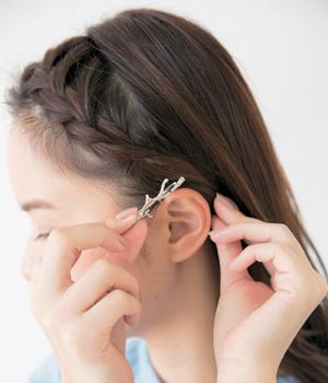 【女子】卒業袴の写真の「前髪」はどうする?アレンジ方法と前髪の疑問を解消8