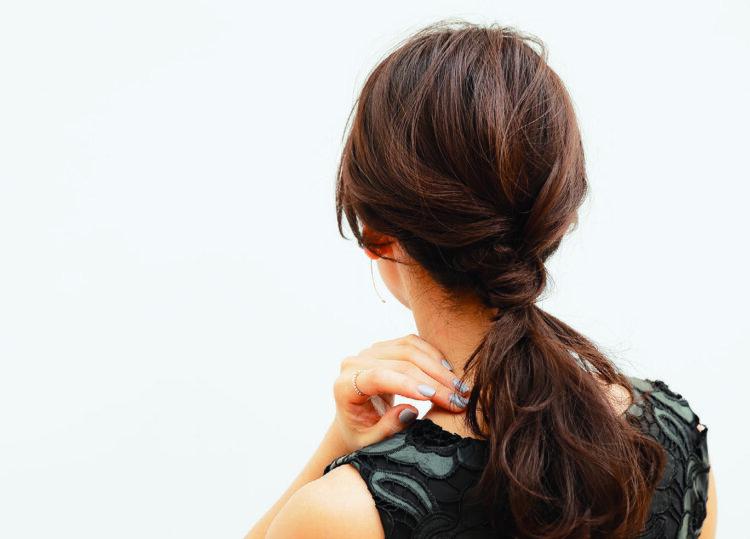 自分でできる!七五三写真のママの髪型を服装・長さ別にご紹介11