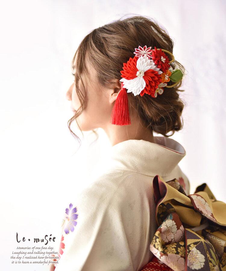 花嫁に人気の髪飾りをフォトウェディングを中心にご紹介!14