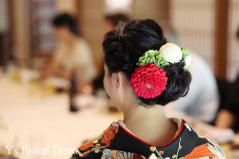 花嫁に人気の髪飾りをフォトウェディングを中心にご紹介!6