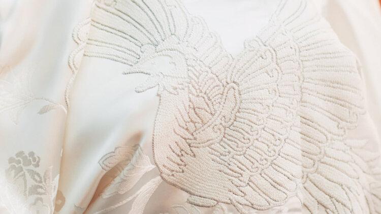 フォトウェディングの白無垢の違いは?色味・生地・織り方・柄から選ぶ12