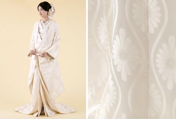フォトウェディングの白無垢の違いは?色味・生地・織り方・柄から選ぶ18