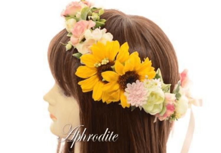 花嫁に人気の髪飾りをフォトウェディングを中心にご紹介!8