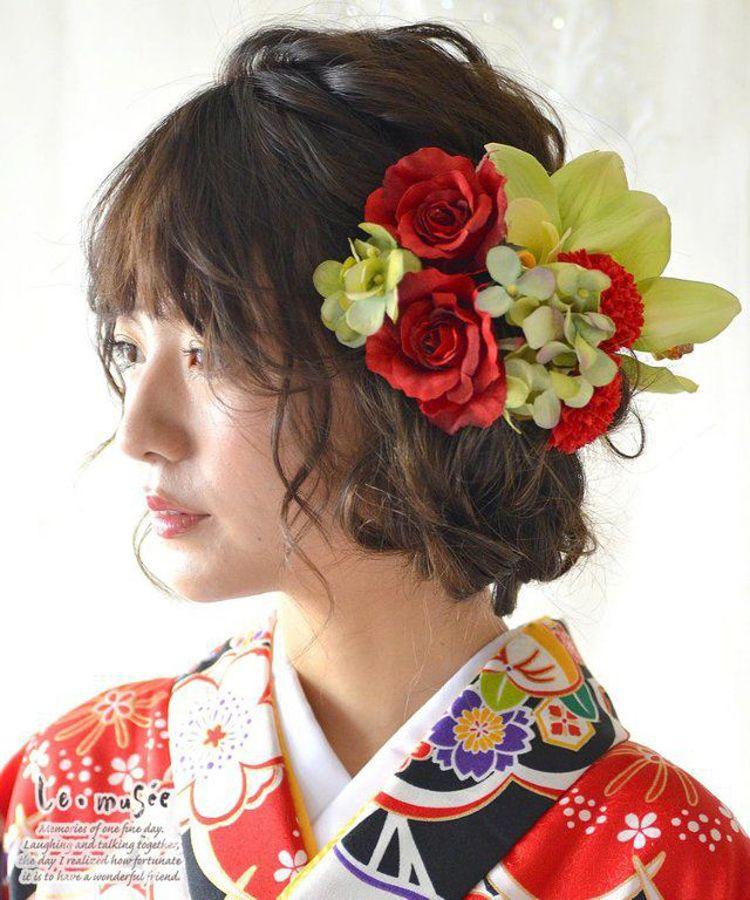 ショートの花嫁の髪型は?フォトウェディングで人気の髪型まとめ16