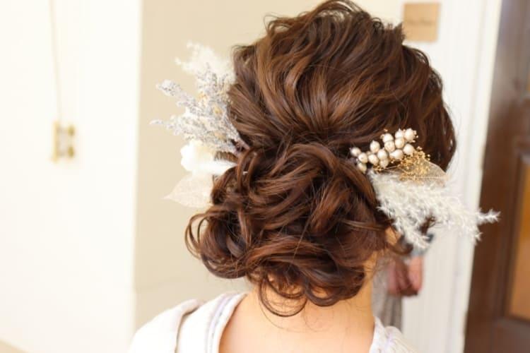 和装×花嫁のフォトウェディングの髪飾りは?白無垢・色打掛に人気の髪飾りを紹介2
