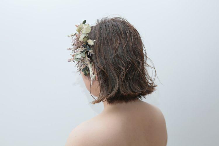 ショートの花嫁の髪型は?フォトウェディングで人気の髪型まとめ8