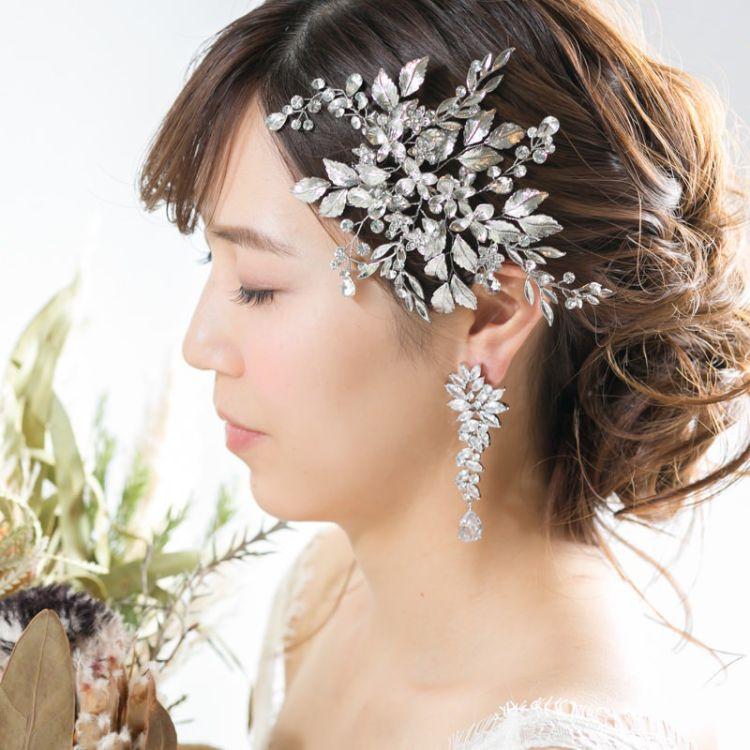 ショートの花嫁の髪型は?フォトウェディングで人気の髪型まとめ15