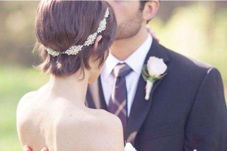 ショートの花嫁の髪型は?フォトウェディングで人気の髪型まとめ13