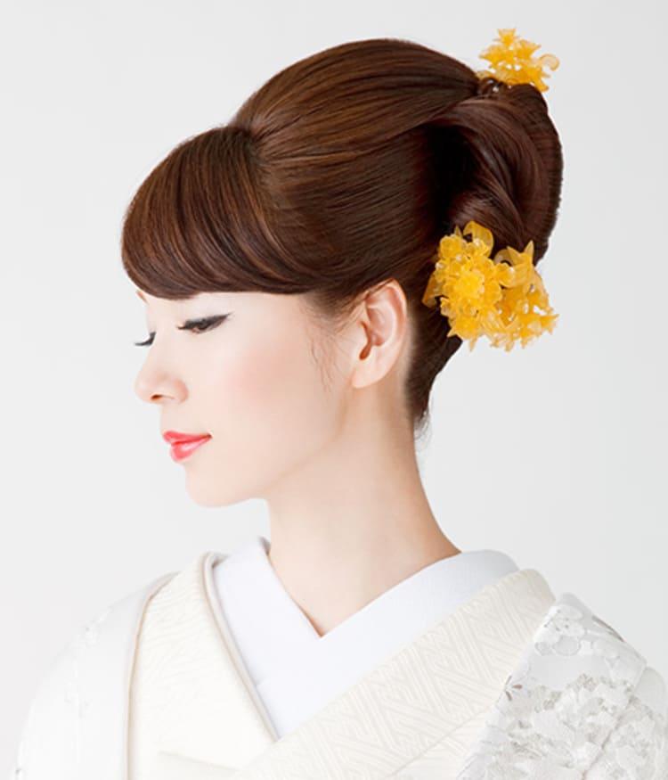 和装×花嫁のフォトウェディングの髪飾りは?白無垢・色打掛に人気の髪飾りを紹介6