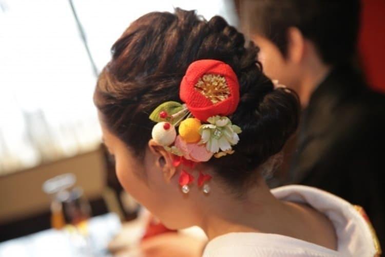 和装×花嫁のフォトウェディングの髪飾りは?白無垢・色打掛に人気の髪飾りを紹介16