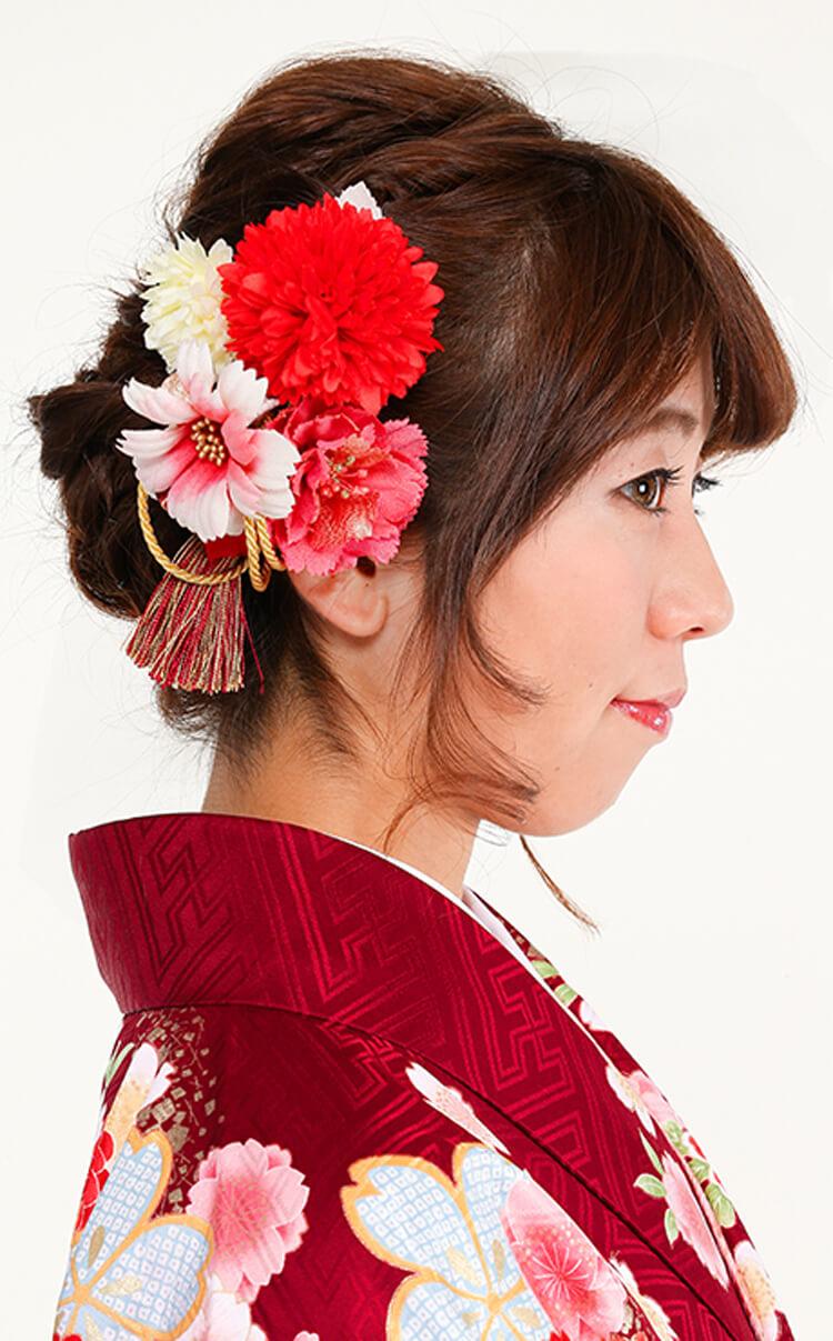 【人気】卒業写真に適した髪型を衣装別に解説!前髪や髪飾りも紹介11