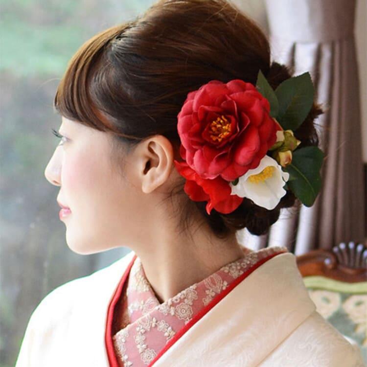 和装×花嫁のフォトウェディングの髪飾りは?白無垢・色打掛に人気の髪飾りを紹介15