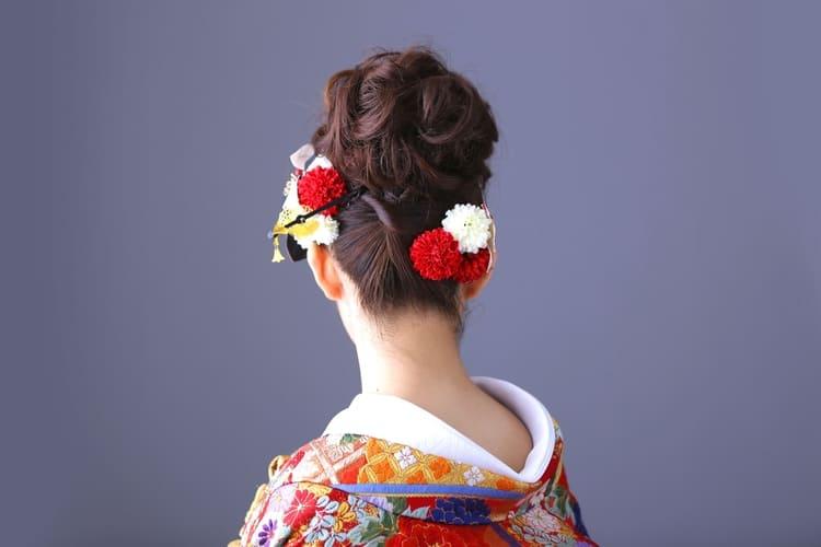 和装×花嫁のフォトウェディングの髪飾りは?白無垢・色打掛に人気の髪飾りを紹介1