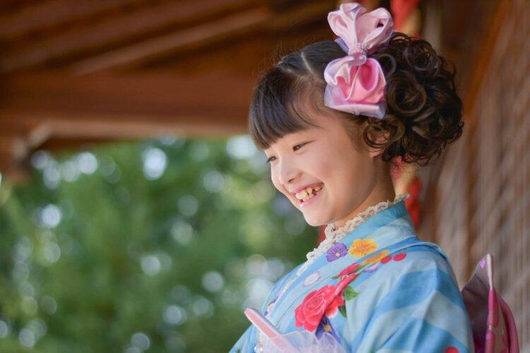 【3歳・7歳】女の子の七五三写真の準備品やセルフ撮りテクニックなど解説3