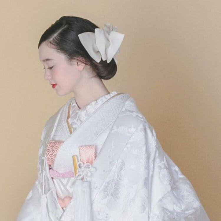 和装×花嫁のフォトウェディングの髪飾りは?白無垢・色打掛に人気の髪飾りを紹介5