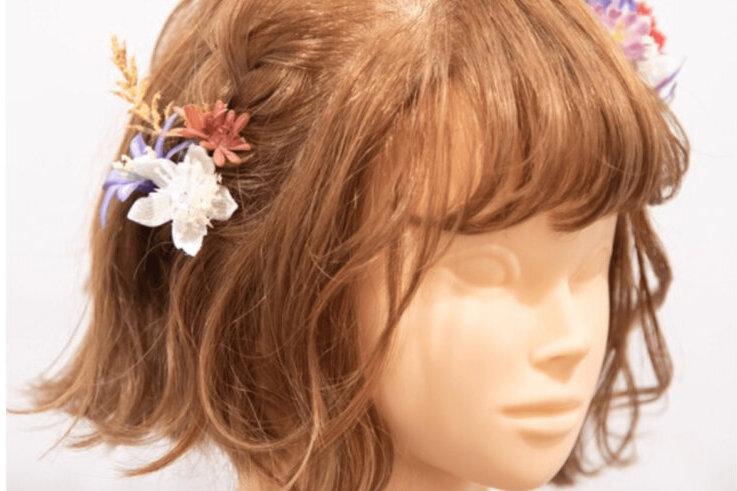 """成人式写真でショートはだめ?振袖×ショートの髪飾りと簡単アレンジを紹介_16"""" width="""