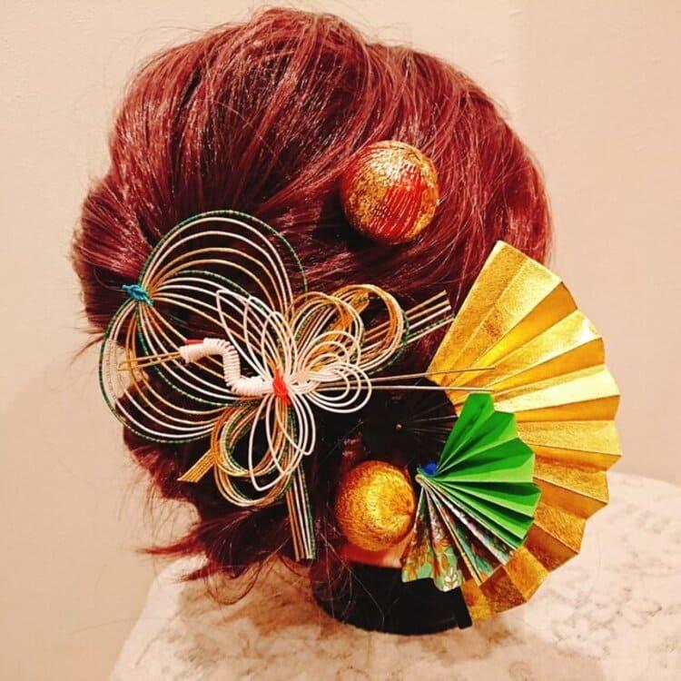 和装×花嫁のフォトウェディングの髪飾りは?白無垢・色打掛に人気の髪飾りを紹介17