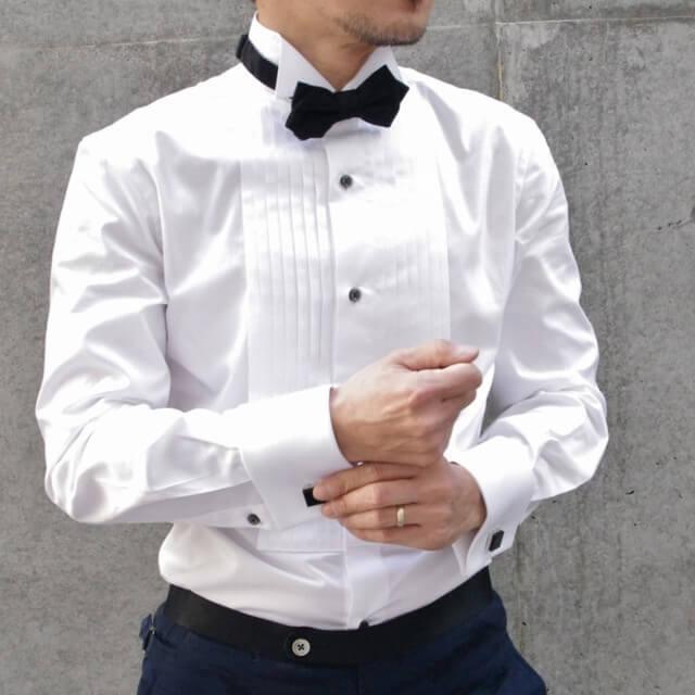 フォトウェディングのワイシャツ 襟の形・色・柄・ブランド・袖口から選ぶ5