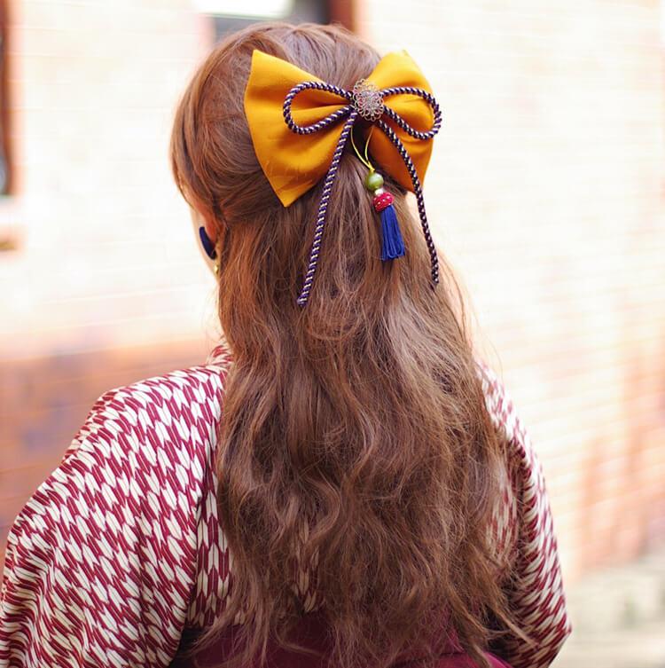 【人気】卒業写真に適した髪型を衣装別に解説!前髪や髪飾りも紹介12