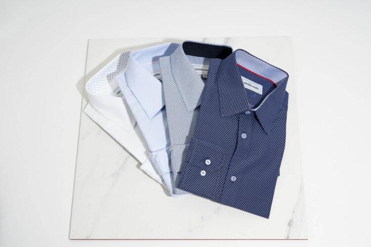 フォトウェディングのワイシャツ 襟の形・色・柄・ブランド・袖口から選ぶ6