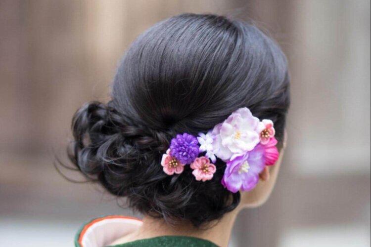 """成人式写真でショートはだめ?振袖×ショートの髪飾りと簡単アレンジを紹介_5"""" width="""