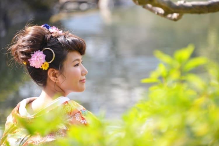 和装×花嫁のフォトウェディングの髪飾りは?白無垢・色打掛に人気の髪飾りを紹介12