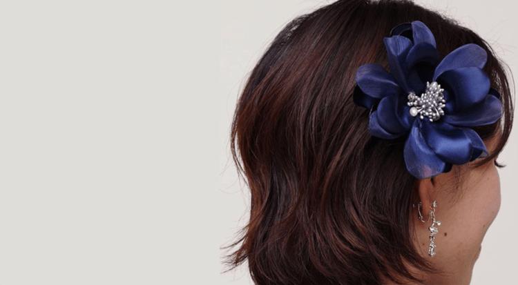 七五三写真のママの髪飾りを着物・ワンピース・スーツ衣装別に紹介15