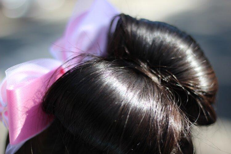 ママでもできるロングの七五三写真の髪型をご紹介!おすすめの髪飾りも8