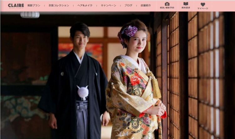 梅田・心斎橋でおすすめのフォトウェディング写真が撮影できる写真スタジオ10選8